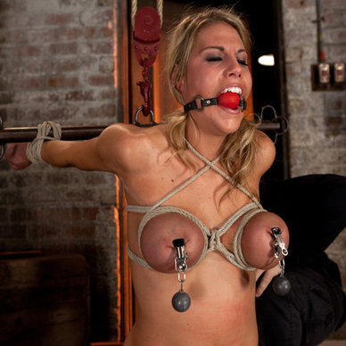 Breast asian bondage lactating
