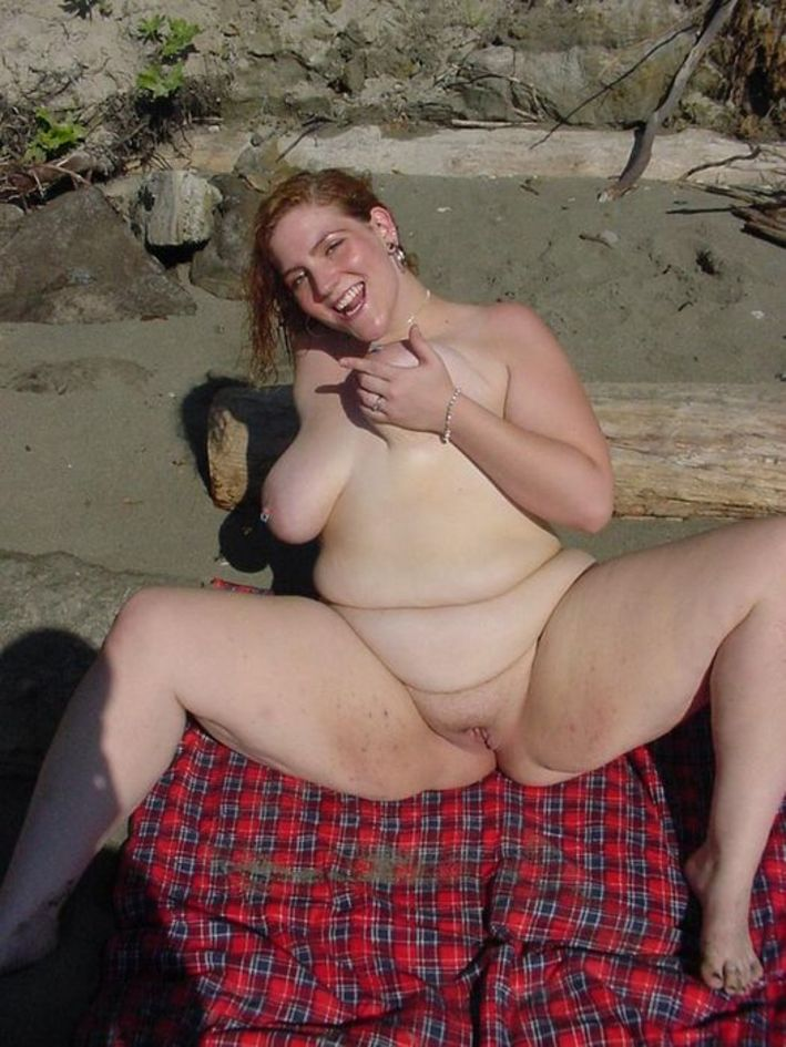 Nude beach fat