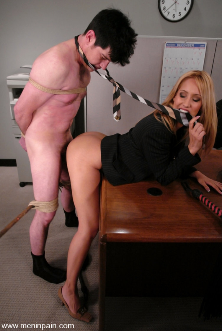Submissive female domination male
