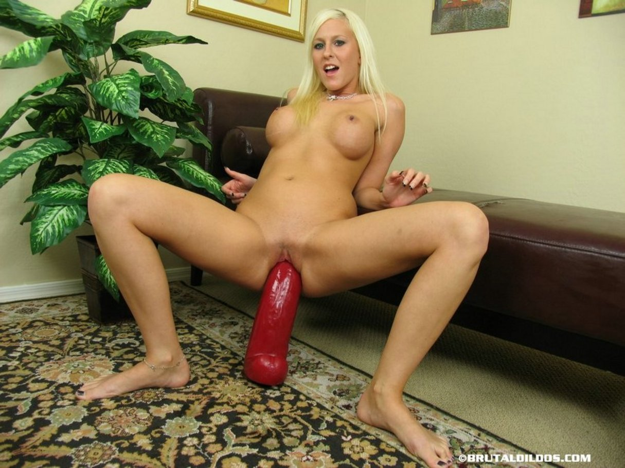 Brutal naked dildos with girls